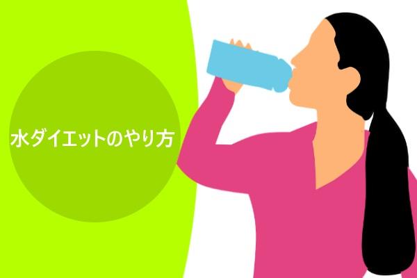 水ダイエットのやり方