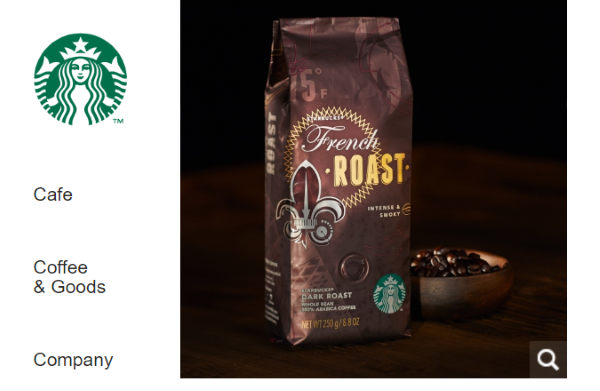 STARBUCKS COFFEE FrenchRoast