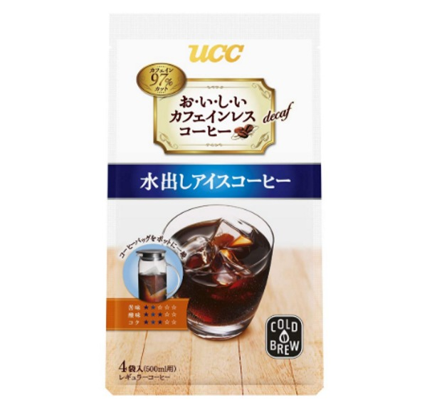 UCC おいしいカフェインレスコーヒー 水出しアイスコーヒー