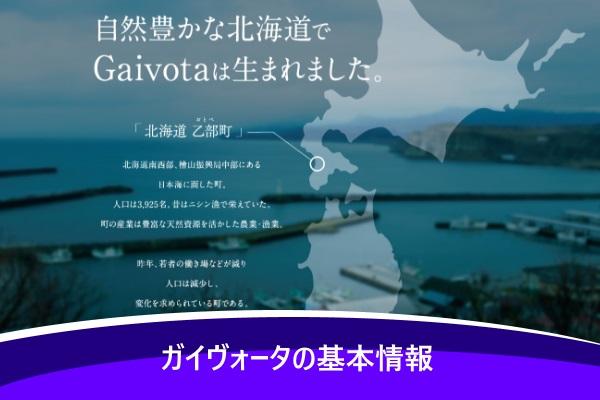 ガイヴォータの基本情報
