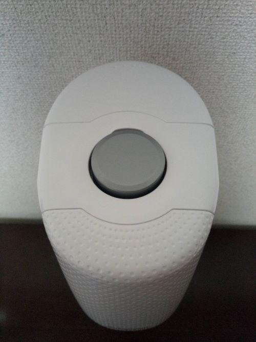 Sodastream Spirit (スピリット)の上部ボタン