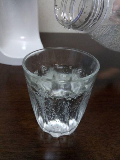 Sodastream Spirit (スピリット)で作った炭酸水
