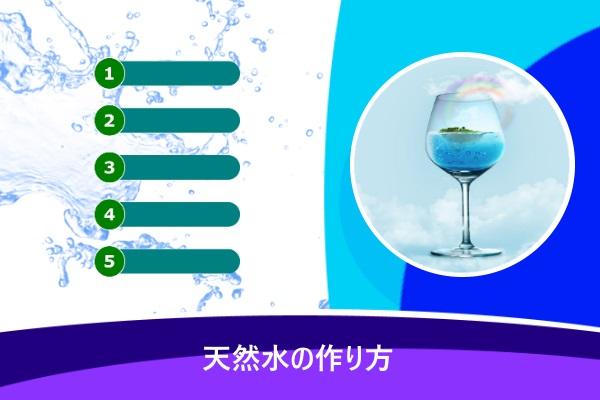 天然水の作り方