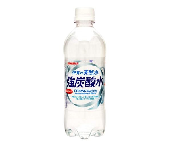 伊賀の天然水強炭酸水(サンガリア)