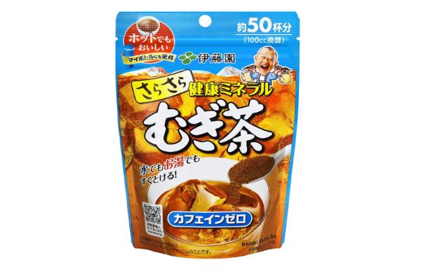 健康ミネラル むぎ茶 粉末タイプ(伊藤園)