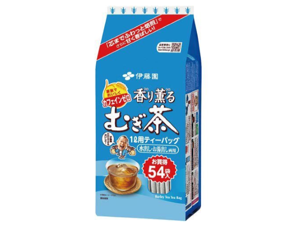 香り薫るむぎ茶ティーバッグ(伊藤園)
