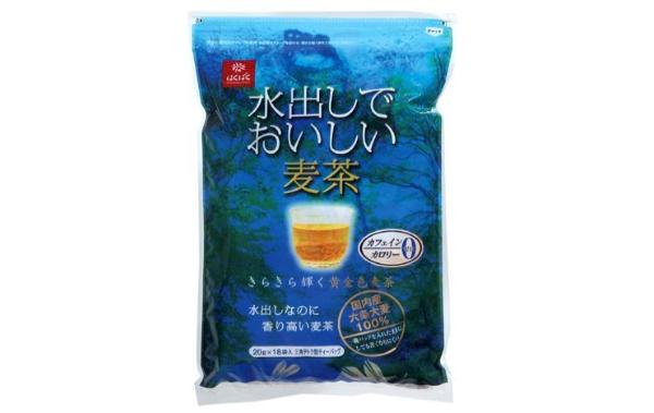 水出でおいしい麦茶(はくばく)