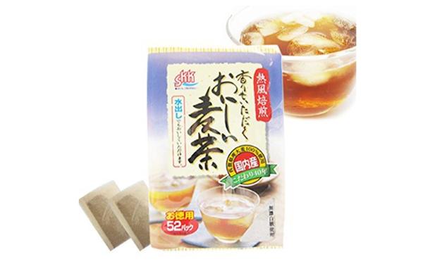香り豊かな水出し麦茶(九州産麦茶)
