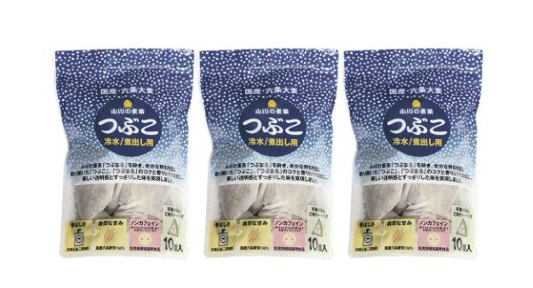 麦茶 徳用 つぶこ 冷水・お湯出し兼用(小川産業)