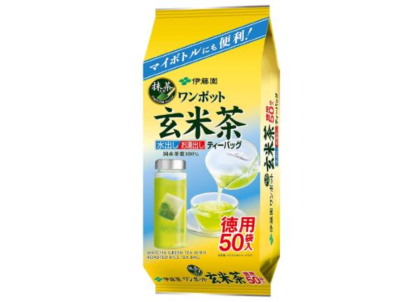 伊藤園の「ワンポット抹茶入り玄米茶」