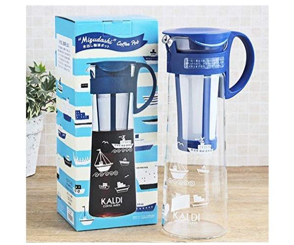 水出し珈琲ポット8杯用(KALDI)