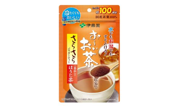 おーいお茶 さらさらほうじ茶 80g(チャック付き袋タイプ)(伊藤園)