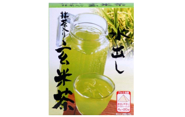 ひしだい製茶の「水出し玄米茶」