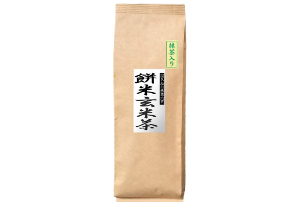 屋久島深山園の「抹茶入り餅米玄米茶」