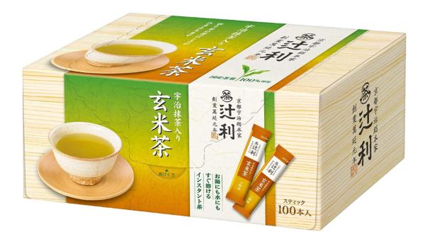 辻利の「インスタント玄米茶」がおすすめ